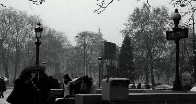 A Snowy Wednesday In Paris