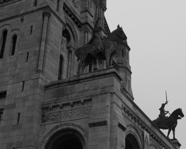 Cathedral Paris 120510 BW1 Wider Angle